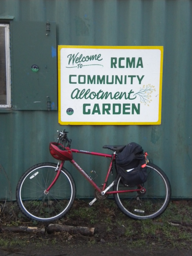 The Riverside Community Garden Allotment Project was established in 2004